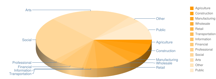 Industry Pie Chart