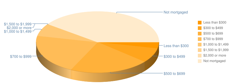 Mortgage Payment Pie Chart
