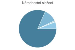 Statistika: Národnostní složení obce Černá
