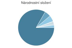 Statistika: Národnostní složení obce Andělská Hora