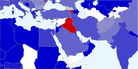 Middle East chart