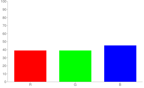 #636373 rgb color chart bar