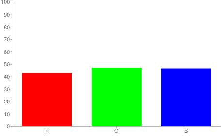 #6d7876 rgb color chart bar