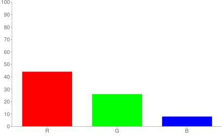 #704214 rgb color chart bar