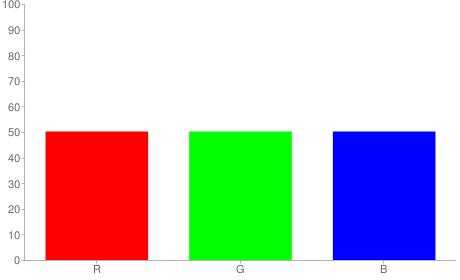 #808080 rgb color chart bar