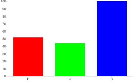 #8470ff rgb color chart bar