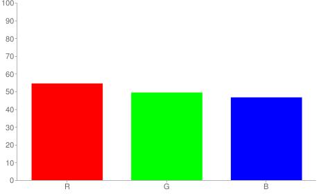 #8b7e77 rgb color chart bar