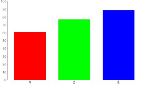 #9bc4e2 rgb color chart bar
