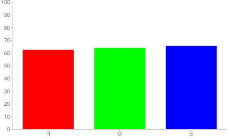 #9fa3a7 rgb color chart bar