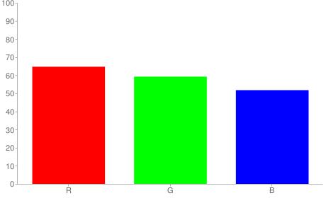 #a59784 rgb color chart bar