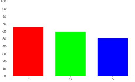 #a79781 rgb color chart bar