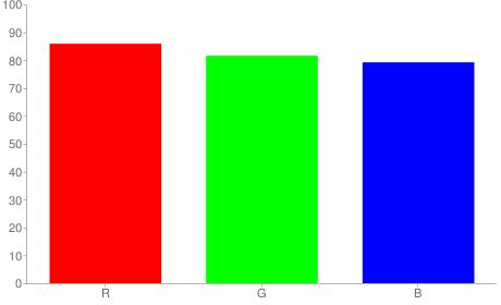 #dbd0ca rgb color chart bar