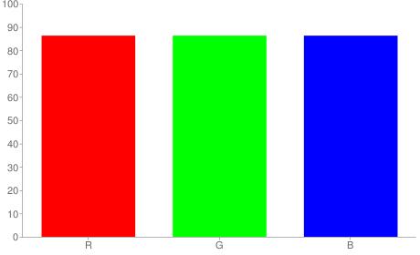 #dcdcdc rgb color chart bar