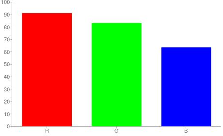 #e8d4a2 rgb color chart bar