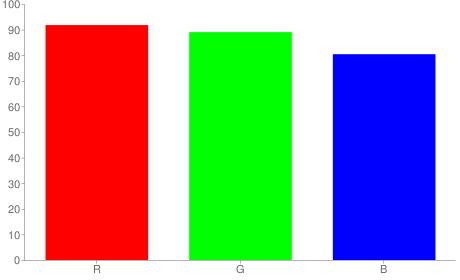 #eae3cd rgb color chart bar