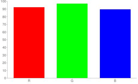 #ebf7e4 rgb color chart bar