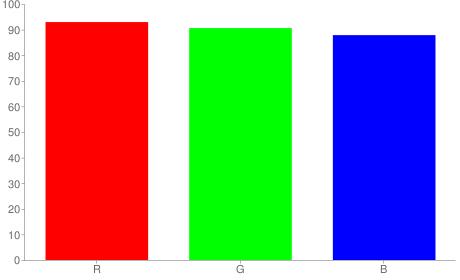 #ede7e0 rgb color chart bar