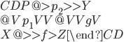 \begin{CD} P @> p_2 >> Y \\ @V p_1 VV @VV g V \\ X @>> f > Z \end{CD}
