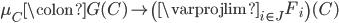 \mu_{C} \colon G(C) \to \left( \varprojlim_{i \in J} F_{i} \right)(C)