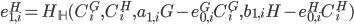 {e^{H}_{1, i} = H_{\mathbb H}(C^{G}_i, C^{H}_i, a_{1, i}G - e^{G}_{0, i} C^{G}_i, b_{1, i}H - e^{H}_{0, i} C^{H}_i)}