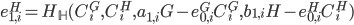 {e^{H}_{1, i} = H_{\mathbb H}(C^{G}_i, C^{H}_i, a_{1, i}G - e^{G}_{0, i}C^{G}_i, b_{1, i}H - e^{H}_{0, i}C^{H}_i)}