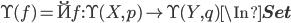 \U(f) = \u{f} : \U(X, p) \to \U(Y, q) \In {\bf Set}