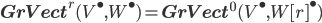 {\bf GrVect}^r(V^\bullet, W^\bullet) = {\bf GrVect}^0(V^\bullet, W[r]^\bullet)