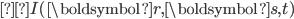 I(\boldsymbol{r}, \boldsymbol{s}, t)