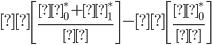 Φ \left[\frac{β_0^*+β_1^*}{σ}  \right] - Φ \left[\frac{β_0^*}{σ}  \right]