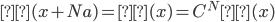 ψ(x+Na)=ψ(x)=C^Nψ(x)