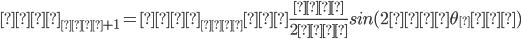 𝑝_{𝑖+1}=𝑝_{𝑖}−\frac{𝑘}{2𝜋}sin(2𝜋\theta_𝑖)