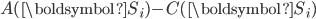 A(\boldsymbol{S}_i)-C(\boldsymbol{S}_i)