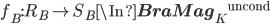 f_B : R_B \to S_B \In {{\bf BraMag}_K}^{\mathrm{uncond}}