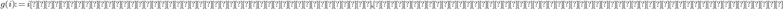 g(i) := i番目のサプリメント以前のもので, 同じ種類であって番号が一番大きいもの